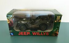 New Ray Jeep Willys Die Cast WWII Military US Army Vehicle 1:32 Scale