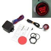 Universal LED Car Engine Start Push Button Switch Ignition Starter Kit Red 12V