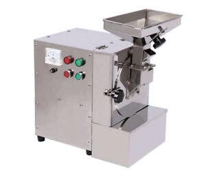 220V Commercial Oily Material Flour Mill Grinder Sesame Powder Machine XL-910