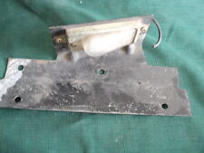 1950's - 1960's Ford Truck Licence Plate Lamp With Bracket SAE L64TD F1, F150,