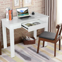 Computer Desk PC Laptop Table Study Simple Workstation Home Office w/ Drawers US