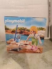 Playmobil 9418 Zoo Tierpark Seehundfütterung  neu new OVP Ostern Osterei