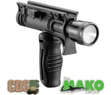 "MAKO FAB Defense TACTICAL FOLDING GRIP WITH 1 1/8"" TACTICAL LIGHT ADAPTER FFA-T4"