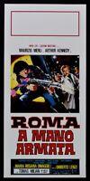 Cartel Roma En Mano Ejército Maurizio Merli Umberto Lenzi Tomas Milian Cine L100