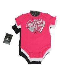 NIKE Baby Air Jordan 23 Flight 3 pack bodysuits size 0-3 months.  HA3054-900