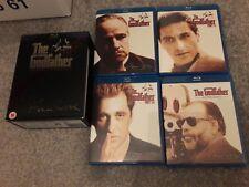 The Godfather Trilogy coppola restore(Blu-ray, 2008, 3-Disc Set, Box-Set) mint