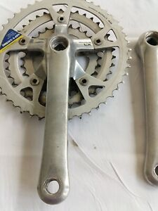 Shimano Mountain LX Chainset Biopace FC-M452 170mm cranks Triple Retro MTB