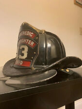 Fire helmet Cairns leather N5A pre-1947 New Yorker