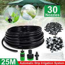 82 Feet Diy Micro Drip Irrigation System Plant Self Watering Garden Hose Kit