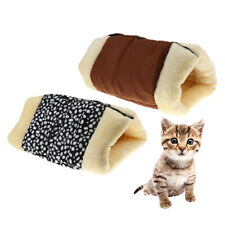 2in1 KITTY THERMAL SELF HEATING PET TUNNEL BED MAT CAT DOG PORTABLE COSY WARM