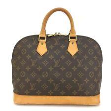 100% Authentic Louis Vuitton Monogram Alma Tote Hand Bag Purse /129