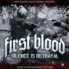 FIRST BLOOD - SILENCE IS BETRAYAL NEW CD