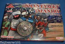 Redbox 72088 turco Osman eyalet infantería. escala 1:72 De Plástico Sin Pintar