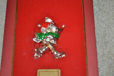 "Lenox Collectible ""Skating Mickey"" Ornament Walt Disney Showcase Collection New!"