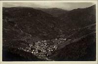 Todtnau Schwarzwald Postkarte 1933 vom Lysbühl gesehen mit Feldberg Panorama