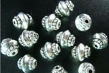 100 pcs Tibetan Silver lantern spacer beads FC167