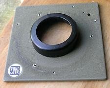 Genuine Sinar Norma Lensboard 18mm Top Hat 50.4mm Hole --- agujeros como se muestra