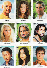 Lost season 1 thru 5 Stars Artifex A1-A25 card set