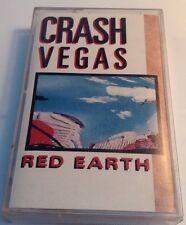 CRASH VEGAS Tape Cassette RED EARTH 1989 WEA Records Canada CRC-7704