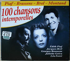 100 CHANSONS INTEMPORELLES   4CD