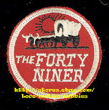 LMH Patch FORTY NINER  Pullman Passenger Train  UP Union Pacific Southern SP CNW