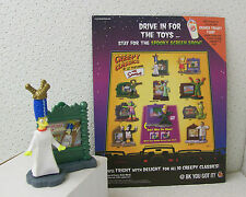 """the Simpsons """"MARGE"""" Halloween BURGER KING CREEPY CLASSICS Fast Food Toy w/Flyer"""