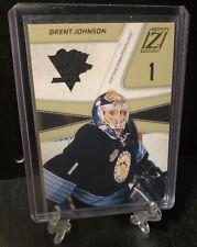 2011-12 Panini Zenith Hockey Brent Johnson Jersey