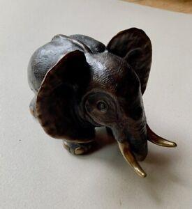Gottfried Kumpf Elefant 1994 Bronze Skulptur signiert und nummeriert 63/125