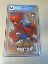 Peter Porker, The Spectacular Spider-Ham #2. CGC Graded 9.6. Variant Cover.