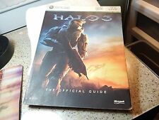 Xbox 360 Xbox Live Halo-3 Official Game Guide Strategy Cheat Booklet