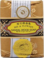 Soap-Sandalwood Bee and Flower Soaps 2.65 oz Bar