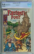 Fantastic Four # 84 CBCS 9.4  OW/WP Doc Doom App.
