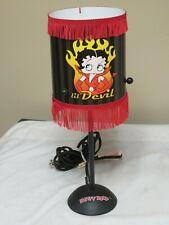 New Betty Boop Lil Devil Table Lamp