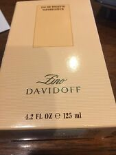 Zino Davidoff Cologne by Davidoff, 4.2 oz EDT Spray for Men NEW