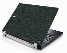 LEATHER Vinyl Lid Skin Cover Decal fits Dell Latitude E6400 Laptop
