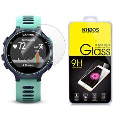 KHAOS Ballistic [Tempered Glass] Screen Protector For Garmin Forerunner 735XT