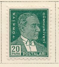 Turkey 1950-51 Early Issue Fine Mint Hinged 20p.