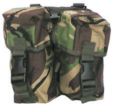 British Army Combat Utility Double Ammo Belt Travel Bum Pouch Bag PLCE DPM New