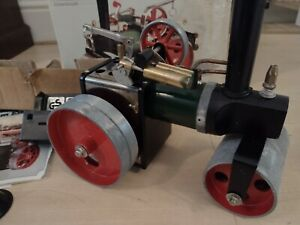 Mamod Vintage Steam Engine Roller with Box .