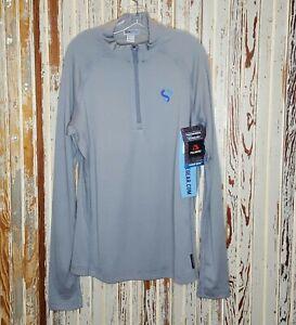 NWT Sixsite Mens Cimarron Base Layer Shirt XL Polartec Merino Wool USA Zip