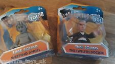DOCTOR WHO TIME SQUAD FIGURES - THE TWELFTH DOCTOR & WEEPING ANGEL - NEW