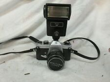 ASAHI PENTAX SPOTMATIC SP 35mm CAMERA and 50mm f/1:4 TAKUMAR LENS Untested