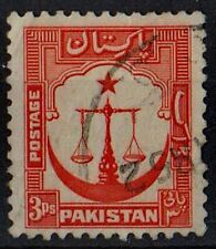 PAKISTAN 1954 Scales of Justice Country Motifs Sc#24a /Mi:PK 24C/ 3ps STAMP