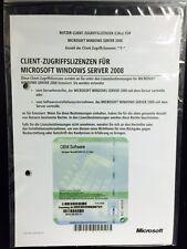 Windows Server 2008 Extension de Licence Pour 5 User, SB/OEM avec TVA-FACTURE