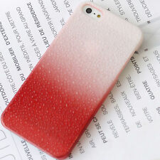 NEW SHELL COVER CASE HARD CASE RED EFFECT DROP OF WATER IPHONE 5 5 S NEW