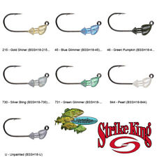 Strike King Jighead (BSSH18) Baby Squadron Swimbait Head 1/8oz Fishing Lures
