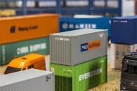 Faller 180824 - 1/87 / H0 20´ Container P&O Nedlloyd - Neu