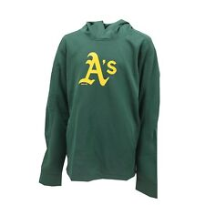 Oakland Athletics Official MLB Kids Youth Size Athletic Hooded Sweatshirt New