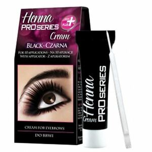 Verona Henna Cream for Eyebrows Black
