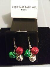 Avon Jewelry Holiday Earrings Bells - Christmas